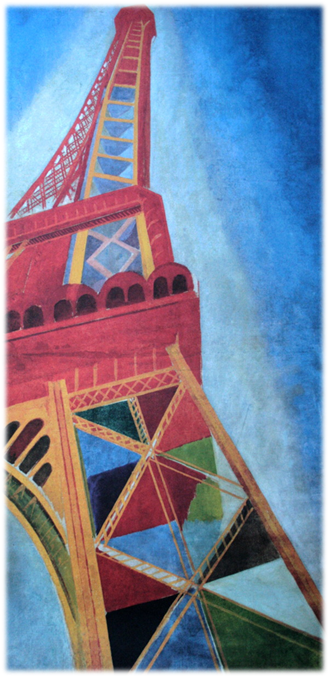 schilderij Eiffeltoren